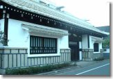 Nagayamon (long-gate house), now designated as a Cultural Asset of Tokyo