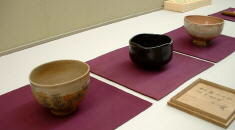 Three older chawan treasures of Tanabe Museum