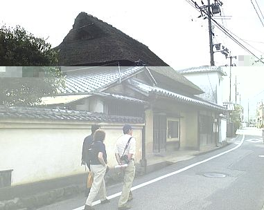 Kaneshige house on old main route through Bizen town