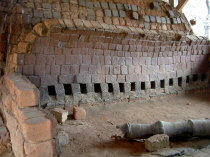 Inside Old Kiln
