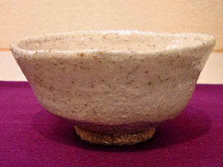 White-Glazed Chawan