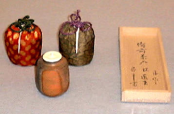Traditional tea forms by Isezaki Jun