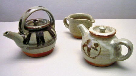 Tea Pots & Milk Pitcher 1960s-70s
